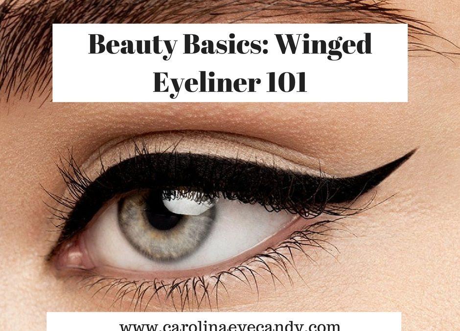 Beauty Basics: Winged Eyeliner 101